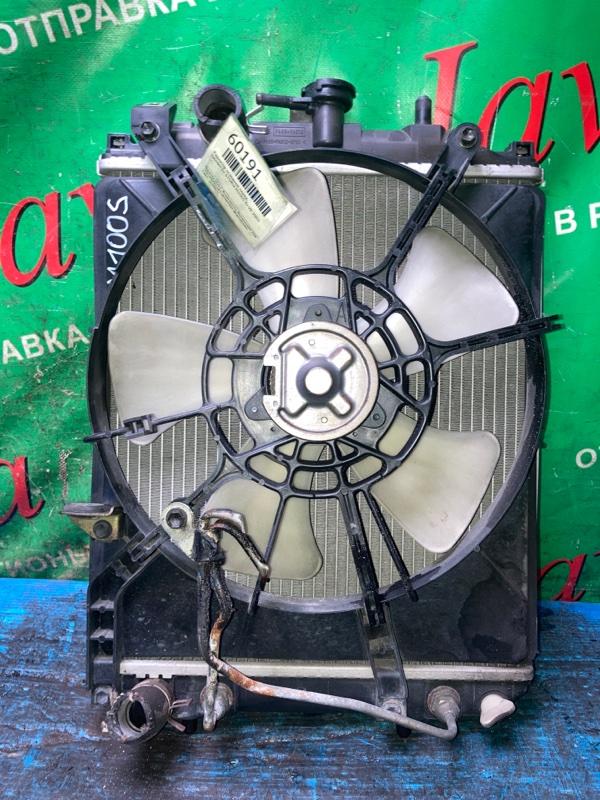 Радиатор основной Daihatsu Storia M100S EJ-VE 2003 передний (б/у) A/T