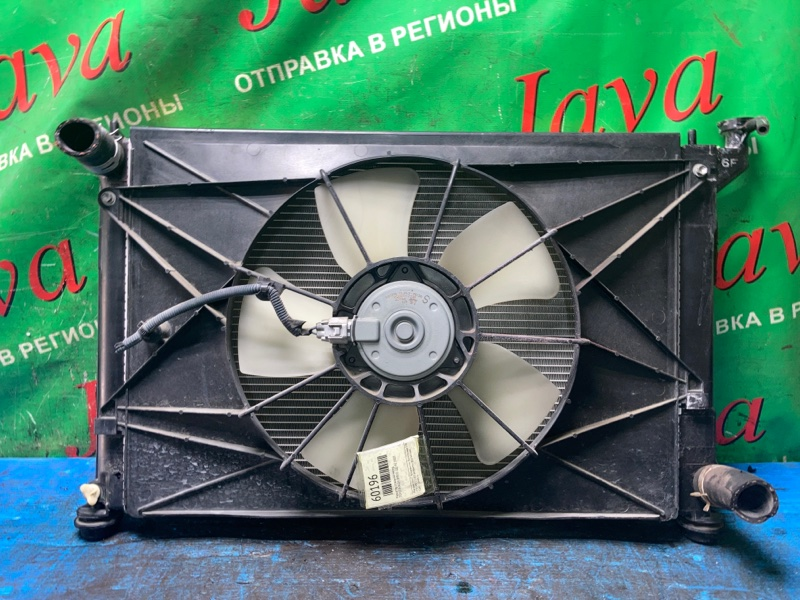 Радиатор основной Toyota Wish ZNE10 1ZZ-FE 2007 передний (б/у) A/T