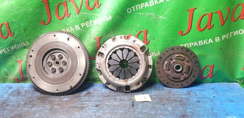 Маховик Mazda Demio DE5FS ZY-VE 2009 передний (б/у) Маховик. Корзина. Диск сцепления. + Болты. В сборе.