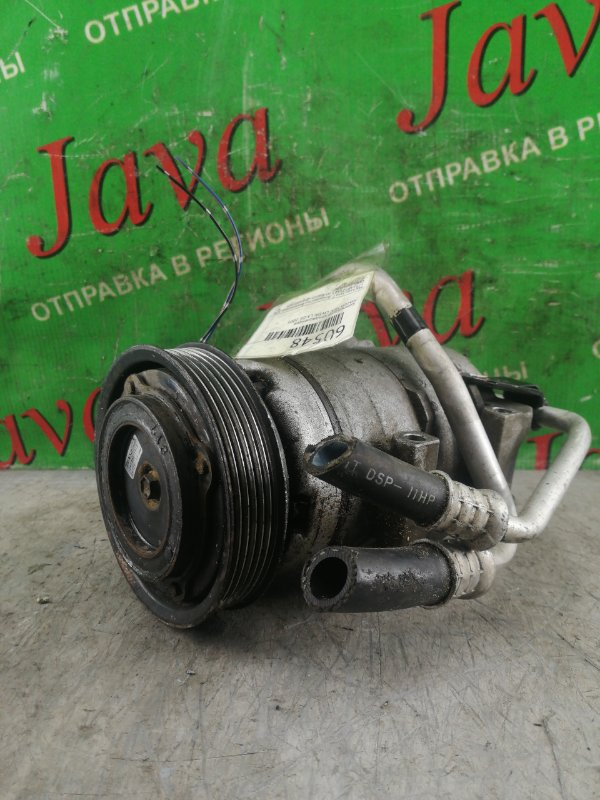 Компрессор кондиционера Mazda Mpv LW3W L3-DE 2005 (б/у) 447220-4671