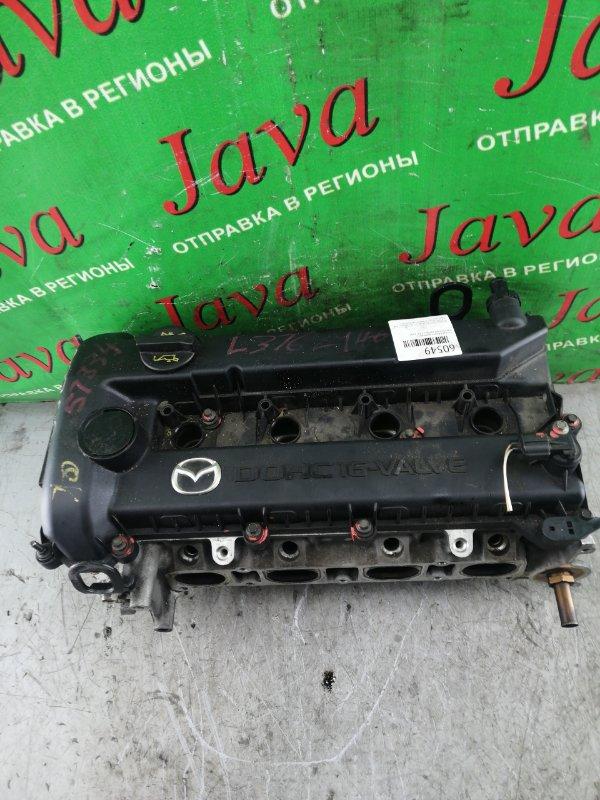 Головка блока цилиндров Mazda Mpv LW3W L3-DE 2005 (б/у) В СБОРЕ. БЕЗ 2Х КЛАПАНОВ.