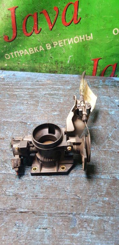 Заслонка дроссельная Toyota Passo KGC10 1KR-FE 2008 (б/у) МЕХ