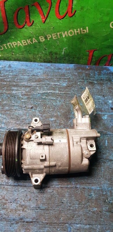 Компрессор кондиционера Nissan Bluebird Sylphy KG11 MR20DE 2007 (б/у) 92600-EW60A