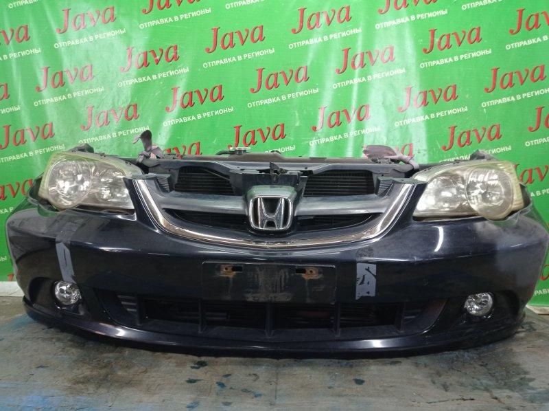 Ноускат Honda Odyssey RA6 F23A 2002 передний (б/у) КСЕНОН. ТУМАНКИ. ЛОМ КРЕПЛЕНИЯ БАМПЕРА. ПОЛЕЗ ХРОМ НА РЕШЕТКЕ.