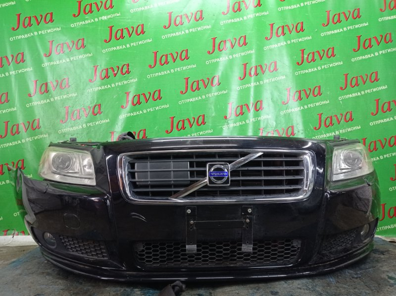 Ноускат Volvo S80 AS98 B6324S 2007 передний (б/у) XENON.ТУМАНКИ. ЛОМ ПРАВОЙ ФАРЫ. YV1AS985071017003