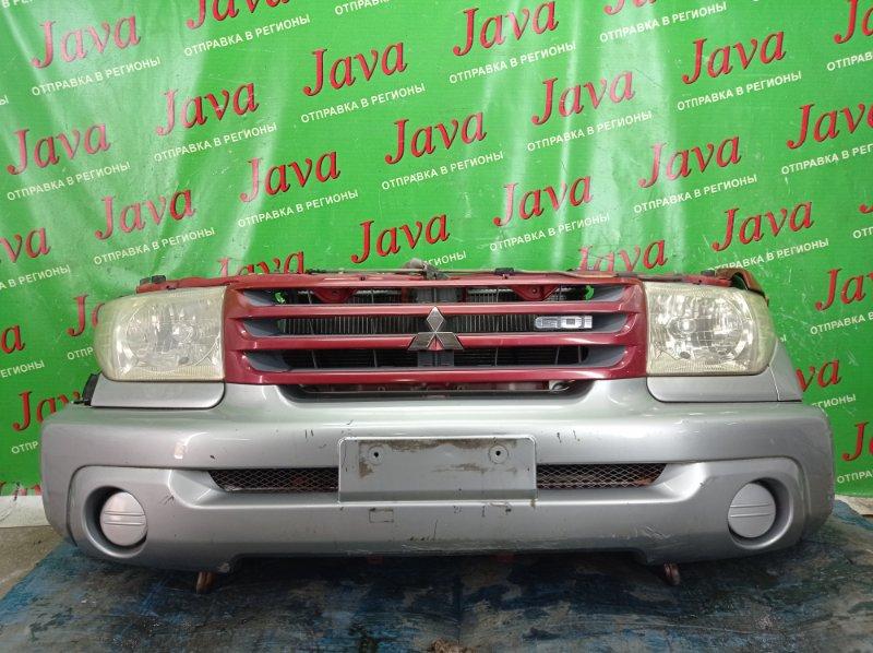 Ноускат Mitsubishi Pajero Io H67W 4G94 2000 передний (б/у) ГАЛОГЕН. ПОД А/Т.