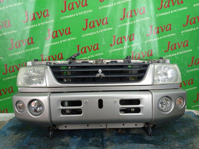 Ноускат Mitsubishi Pajero Mini H58A 4A30 2001 передний (б/у) ГАЛОГЕН. ТУМАНКИ. ПОД А/Т.
