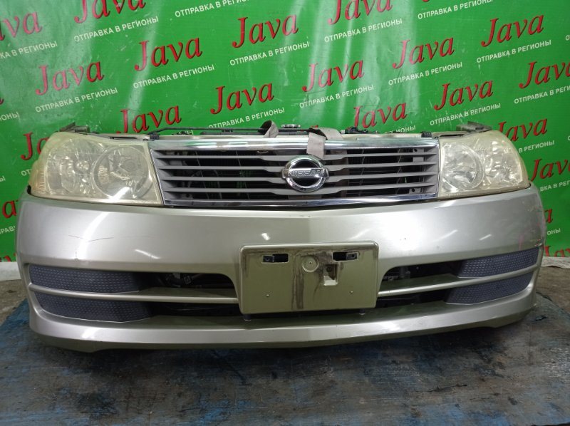 Ноускат Nissan Liberty RM12 QR20DE 2001 передний (б/у) 2-я МОДЕЛЬ. ГАЛОГЕН. ПОД А/Т. ПОЛЕЗ ХРОМ.