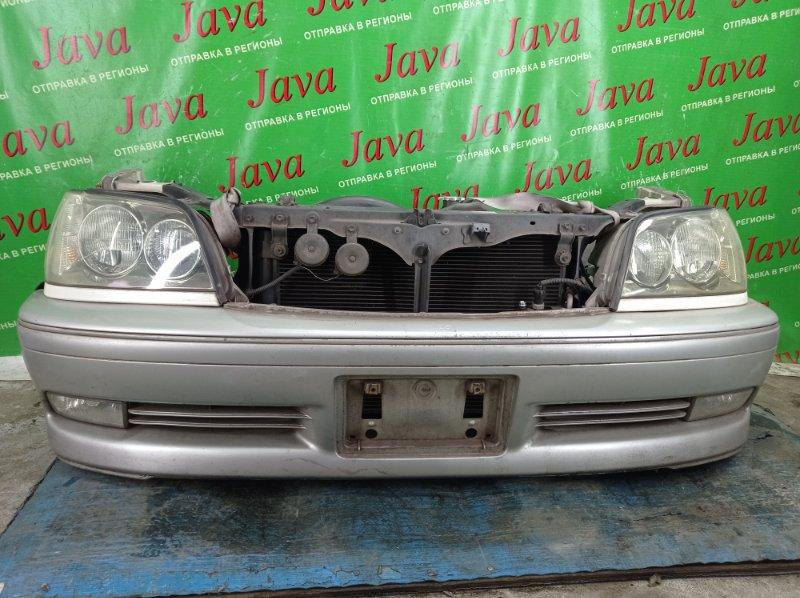Ноускат Toyota Crown JZS171 1JZ-GE 2001 передний (б/у) КСЕНОН.ТУМАНКИ. ПОД А/Т. НАДОРВАН БАМПЕР. ПОТЕРТОСТИ.