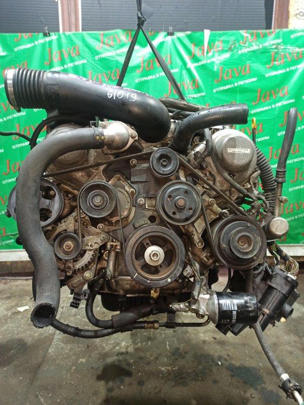 Двигатель Toyota Celsior UCF30 3UZ-FE 2001 (б/у) ПРОБЕГ-81000КМ. 2WD. КОСА+КОМП. ПОД А/Т. СТАРТЕР В КОМПЛЕКТЕ.