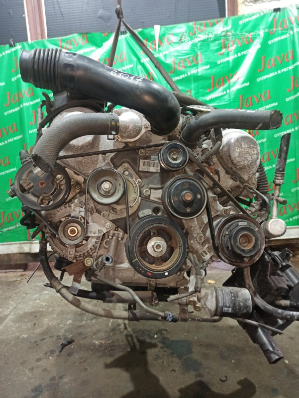 Двигатель Toyota Celsior UCF30 3UZ-FE 2003 (б/у) ПРОБЕГ-67000КМ. 2WD. КОСА+КОМП. ПОД А/Т. СТАРТЕР В КОМПЛЕКТЕ.