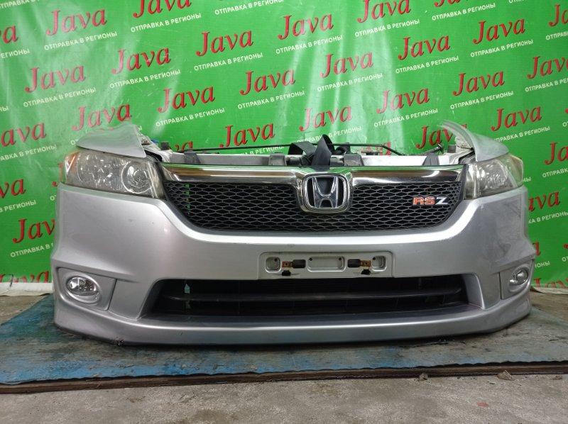 Ноускат Honda Stream RN8 R20A 2006 передний (б/у) RS-Z. КСЕНОН. ТУМАНКИ. ПОД А/Т. ПОДОРВАН БАМПЕР.