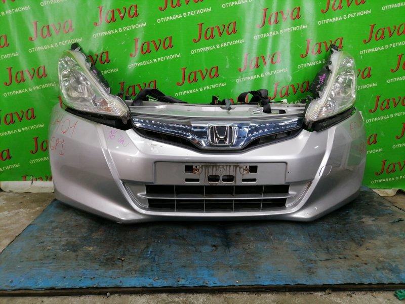 Ноускат Honda Fit GP1 LDA 2011 передний (б/у) XENON. ПОД А/Т. НАДОРВАН БАМПЕР.