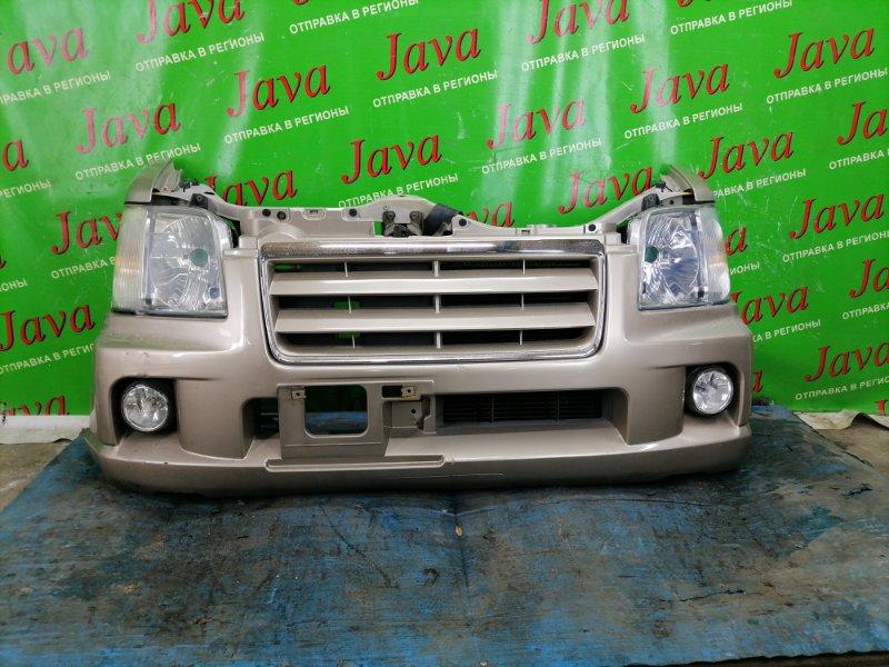 Ноускат Suzuki Wagon R MC22S K6A 2003 передний (б/у) ГАЛОГЕН. ТУМАНКИ ПОД М/Т.