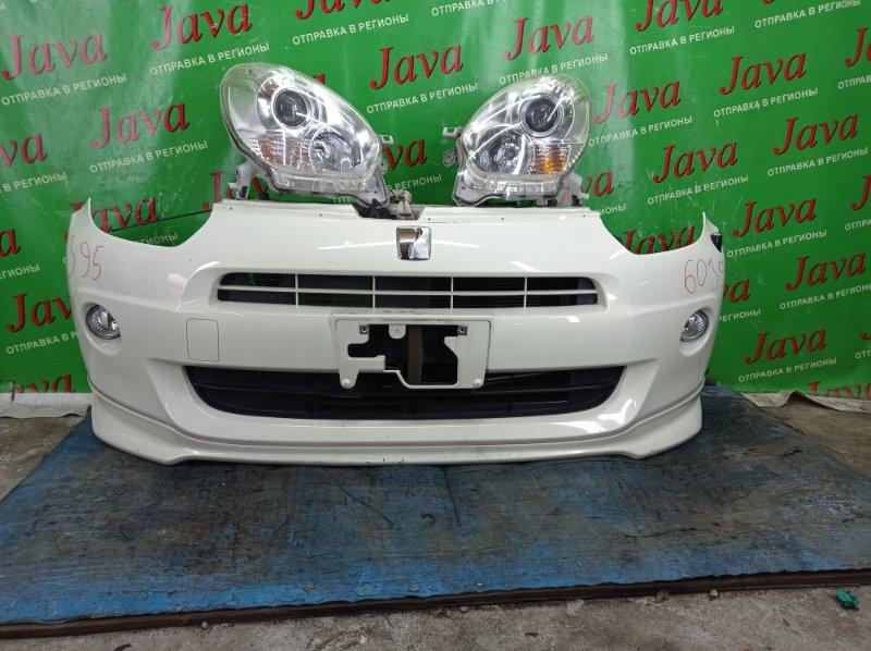 Ноускат Toyota Passo KGC30 1KR-FE 2012 передний (б/у) 1-я МОДЕЛЬ. ГАЛОГЕН. ТУМАНКИ.ГУБА