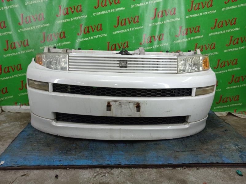 Ноускат Toyota Bb NCP31 1NZ-FE 2003 передний (б/у) 2-я МОДЕЛЬ. КСЕНОН. ГУБА