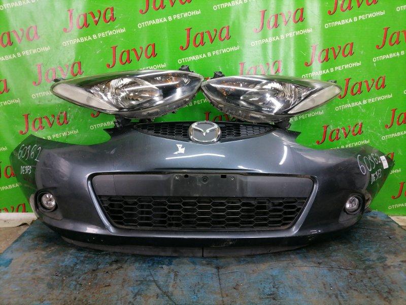 Ноускат Mazda Demio DE3FS ZJ-VE 2010 передний (б/у) ГАЛОГЕН. ТУМАНКИ. ПОД А/Т.