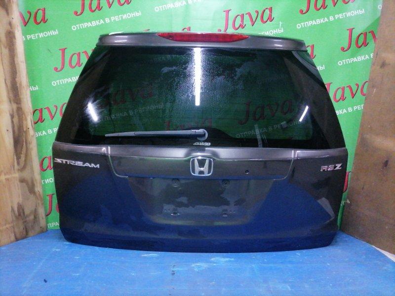 Дверь задняя Honda Stream RN7 R18A 2006 задняя (б/у) ПОТЕРТОСТИ. МЕТЛА. КАМЕРА