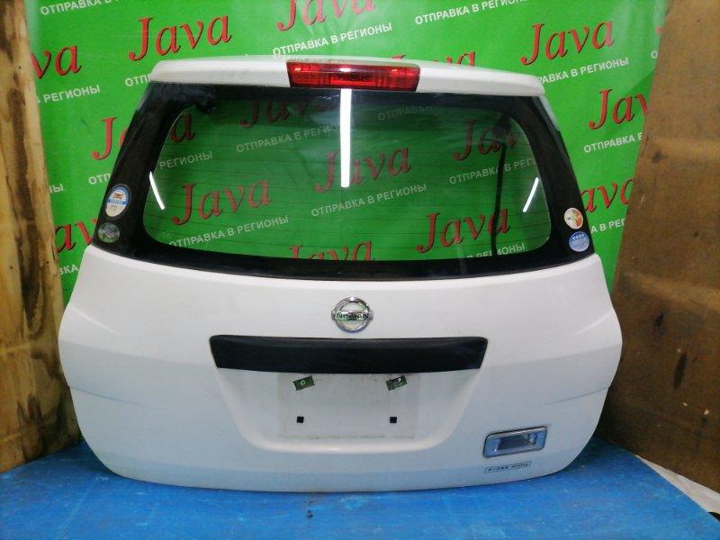 Дверь задняя Nissan Ad VAY12 CR12DE 2008 задняя (б/у) ПОТЕРТОСТИ.