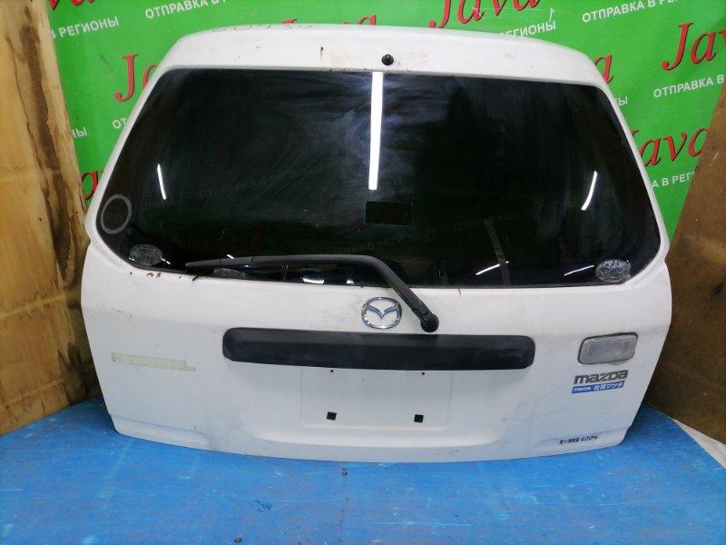 Дверь задняя Mazda Familia VY11 QG13DE 2006 задняя (б/у) ПОТЕРТОСТИ.СКОЛЫ. МЕТЛА.
