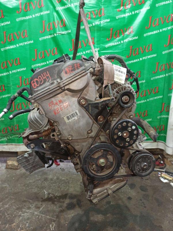 Двигатель Toyota Corolla Rumion NZE151 1NZ-FE 2008 (б/у) ПРОБЕГ-53000КМ. 2WD. ЭЛЕКТРО ЗАСЛОНКА. +КОМП. ПОД А/Т. СТАРТЕР В КОМПЛЕКТЕ.