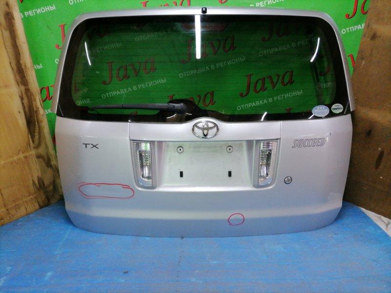 Дверь задняя Toyota Succeed NCP58 1NZ-FE задняя (б/у) ПОТЕРТОСТИ. ТЫЧКА. ВМЯТИНА. МЕТЛА.