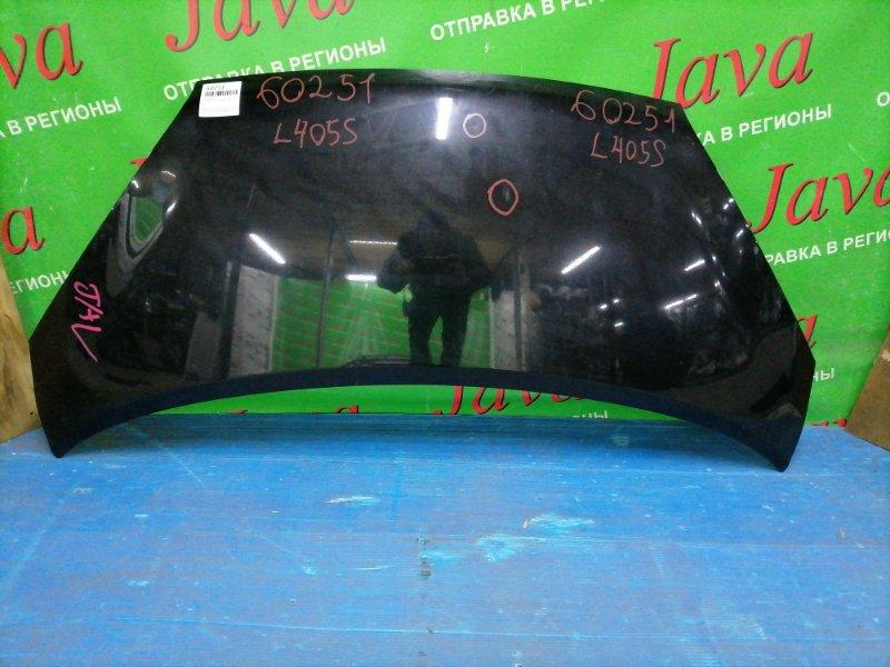 Капот Daihatsu Sonica L405S KF-DET 2007 передний (б/у) ПОТЕРТОСТИ. ТЫЧКИ.