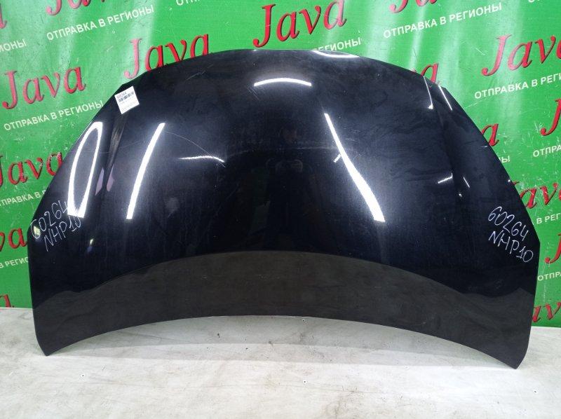 Капот Toyota Aqua NHP10 1NZ-FXE 2012 передний (б/у) ПОТЕРТОСТИ.