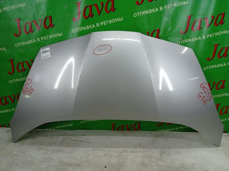 Капот Honda Fit GE6 L13A 2012 передний (б/у) ПОТЕРТОСТИ. ВМЯТИНА
