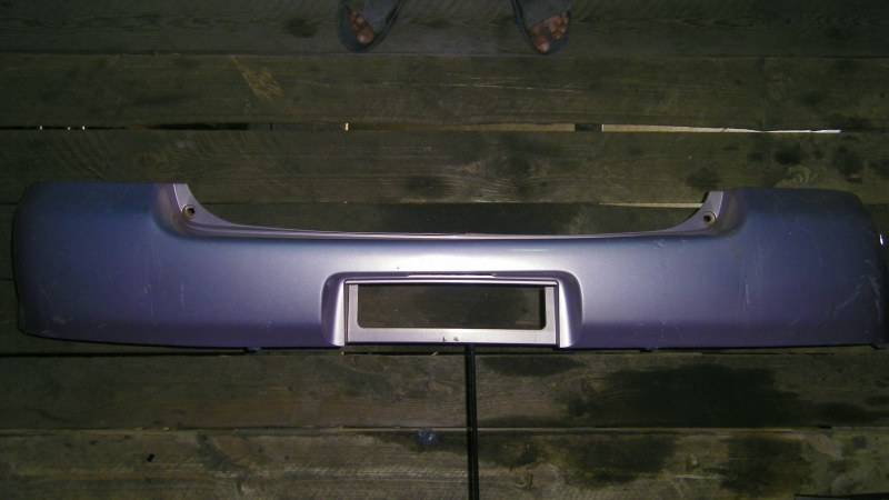 Бампер Toyota Vitz SCP10 1SZFE задний верхний