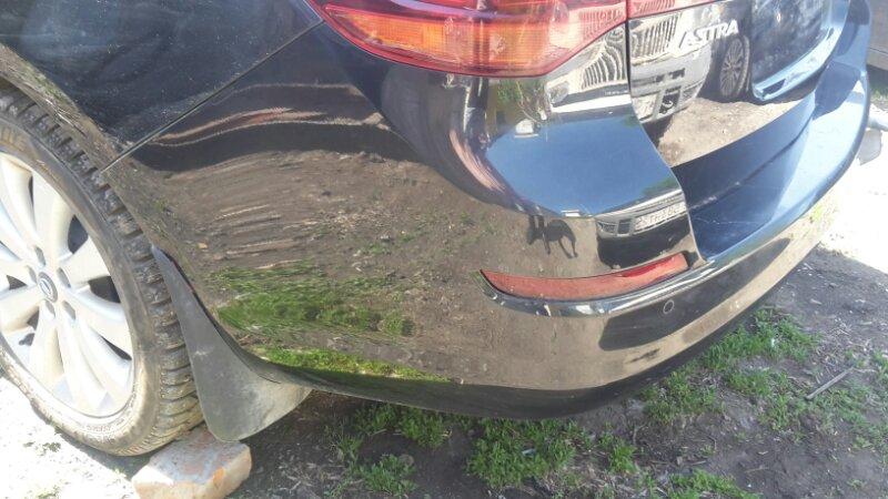 Бампер Opel Astra J P10 задний