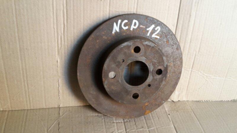 Тормозной диск Toyota Platz NCP12 1NZ передний