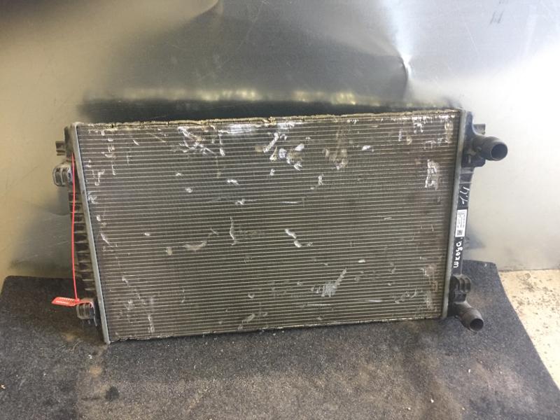 Радиатор охлаждения Skoda Octavia A7 ЛИФТБЕК 1.4 2014 (б/у)