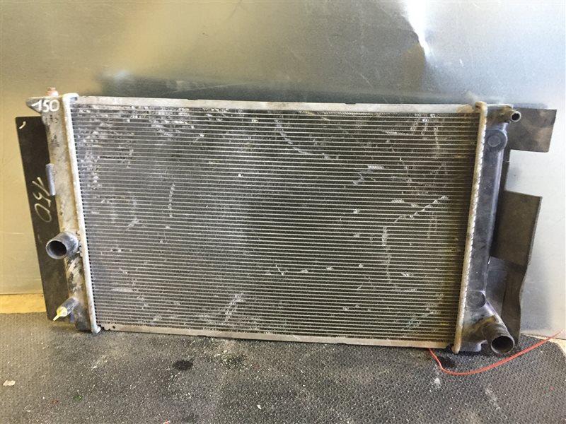 Радиатор охлаждения Toyota Corolla 150 СЕДАН 1NR 2012 (б/у)