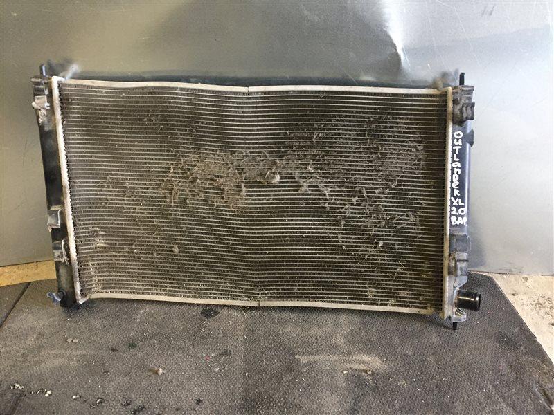 Радиатор охлаждения Mitsubishi Outlander Xl ВНЕДОРОЖНИК 4B11 2011 (б/у)