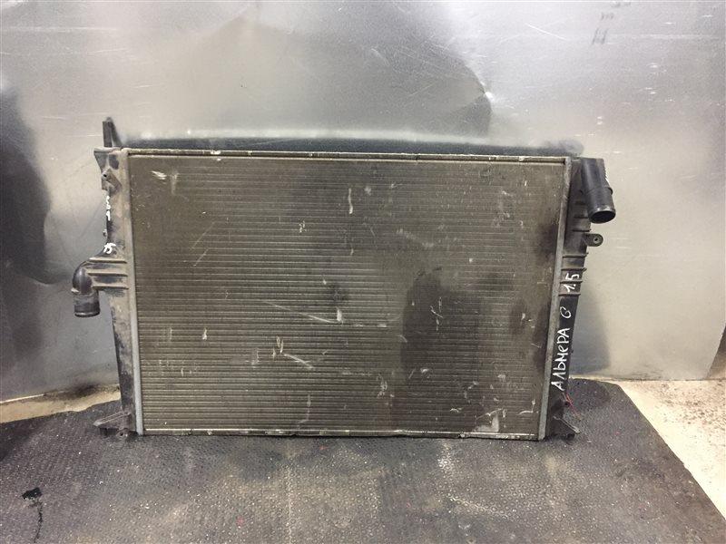 Радиатор охлаждения Nissan Almera G15 СЕДАН 1.6 2014 (б/у)