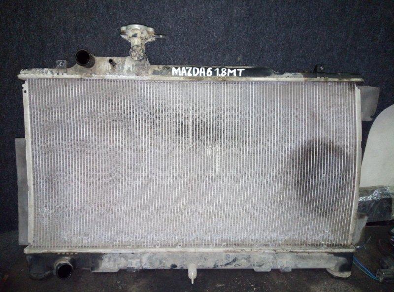 Радиатор охлаждения Mazda 6 Gh СЕДАН 1.8 2008 (б/у)