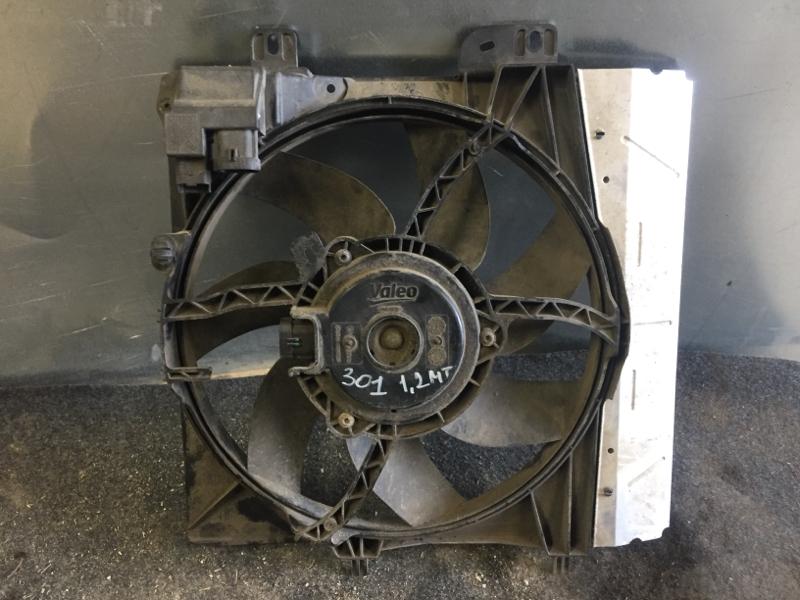 Диффузор Peugeot 301 СЕДАН 1.2 2013 (б/у)