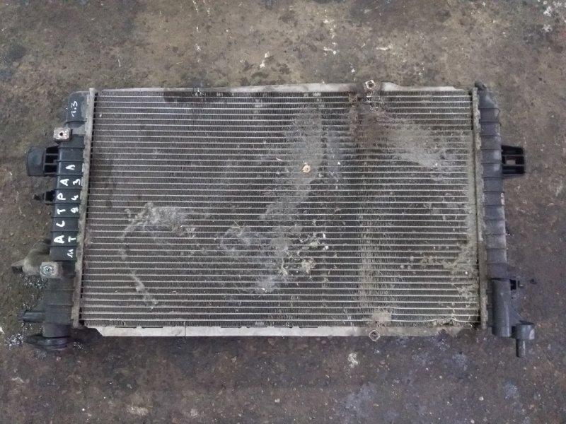 Радиатор охлаждения Opel Astra H УНИВЕРСАЛ 1.3 2011 (б/у)