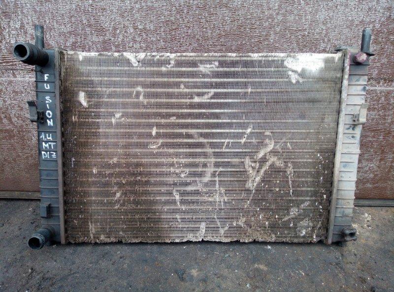 Радиатор охлаждения Ford Fusion ХЕТЧБЕК 1.4 МТ ДИЗЕЛЬ 2008 (б/у)