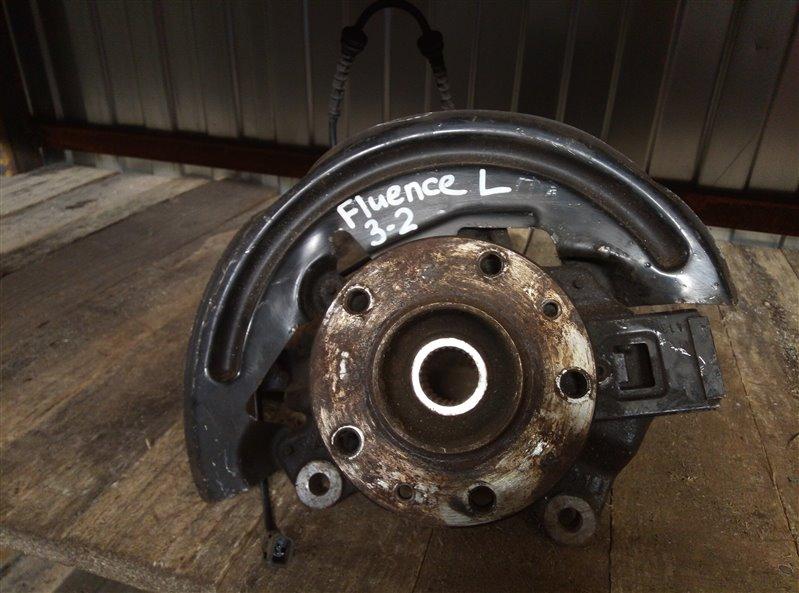 Кулак (цапфа) Renault Fluence 2013 передний левый (б/у)