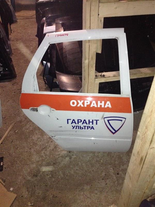 Дверь Lada Granta СЕДАН 1.6 2012 задняя правая (б/у)