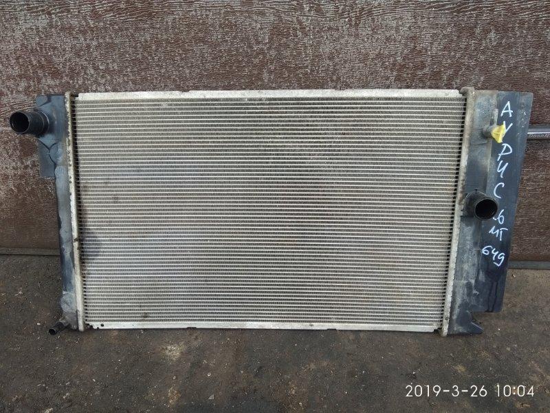 Радиатор охлаждения Toyota Auris ХЕТЧБЕК 1.6 2009 (б/у)