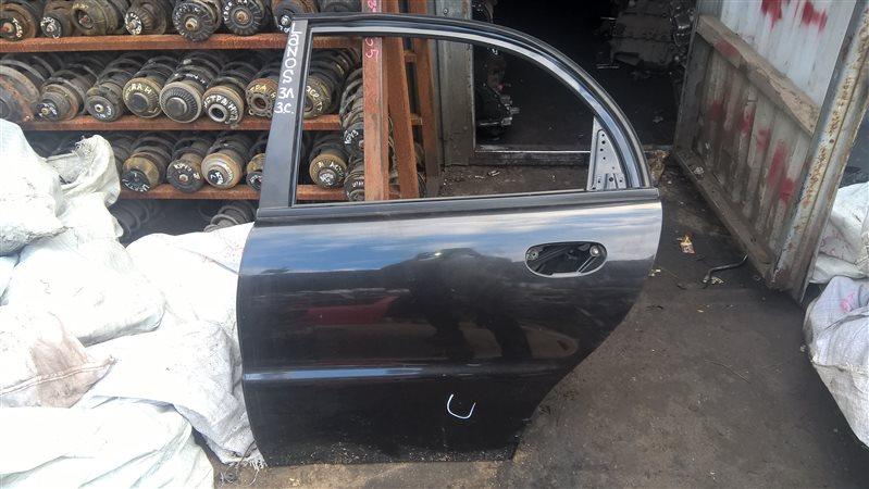 Дверь Chevrolet Lanos СЕДАН 2006 задняя левая (б/у)
