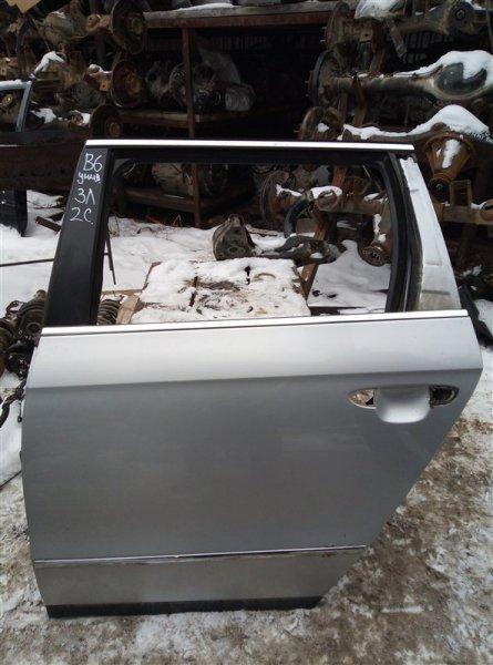 Дверь Volkswagen Passat B6 УНИВЕРСАЛ 2005 задняя левая (б/у)
