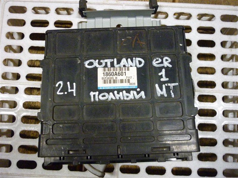 Блок управления двигателем Mitsubishi Outlander 1 ВНЕДОРОЖНИК 2.4 2005 (б/у)