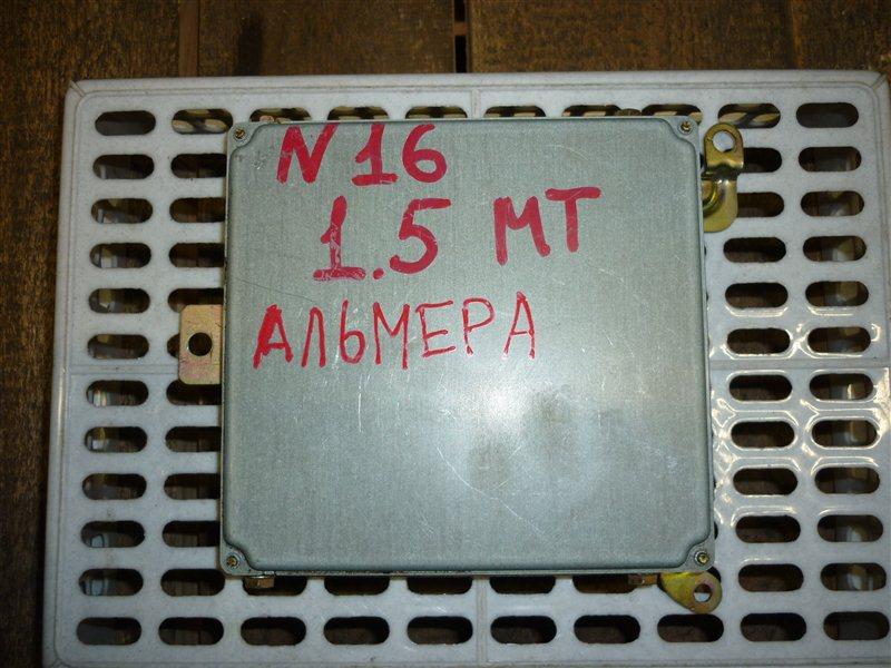 Блок управления двигателем Nissan Almera N16 СЕДАН 1.5 2006 (б/у)