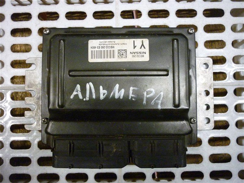 Блок управления двигателем Nissan Almera СЕДАН 2008 (б/у)