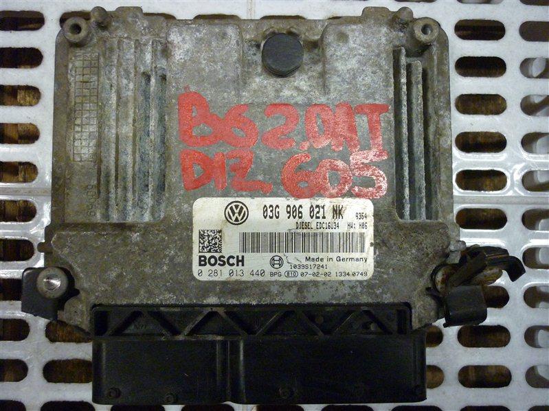 Блок управления двигателем Volkswagen Passat B6 УНИВЕРСАЛ 2.0 2009 (б/у)