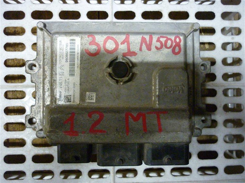 Блок управления двигателем Peugeot 301 СЕДАН 1.2 2013 (б/у)